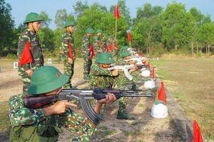 BĐBP Bình Định: Kiểm tra thực hành bắn đạn thật cho chiến sỹ mới