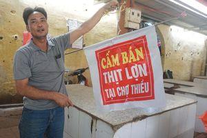 Thanh Hóa hủy bỏ cấm bán thịt lợn ở chợ