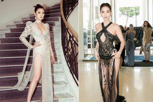 Mặc váy thấu nội y tới Cannes, Jolie Nguyễn khoe dáng nóng 'bỏng mắt'