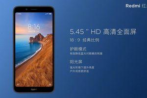 Xiaomi ra mắt Redmi 7A: gia tăng quân số ở phân khúc giá siêu rẻ