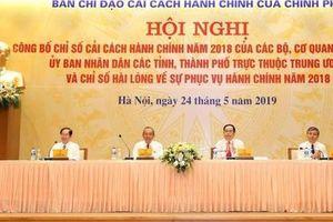 Hà Nội tiếp tục vị trí 'á quân' trong bảng xếp hạng Chỉ số cải cách hành chính