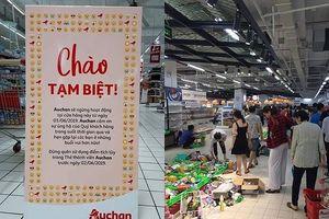 Xấu hổ với cảnh 'vơ vét' ở siêu thị Auchan