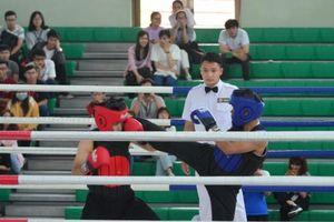 Gần 300 VĐV tham dự giải võ cổ truyền Đại học Tôn Đức Thắng mở rộng lần 1