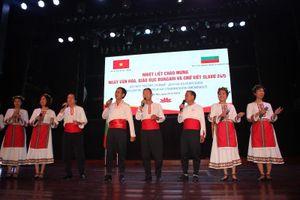 Tình hữu nghị Việt Nam - Bulgaria qua Ngày văn hóa và chữ viết Slavơ
