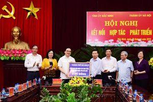 Hà Nội đẩy mạnh hợp tác phát triển toàn diện với tỉnh Bắc Ninh