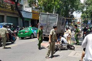 Người phụ nữ bị xe tải cán tử vong ở Gò Vấp