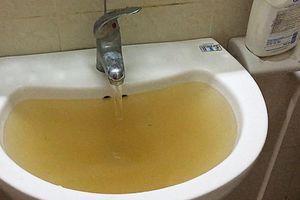 Cư dân Hà Nội bức xúc vì dùng nước bẩn giá cao