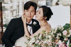 'Bom sex Hàn Quốc' khoe ảnh cưới bên chồng trẻ