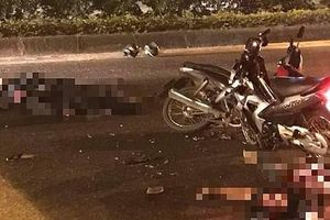 Khởi tố vụ án 3 thanh niên đi trên một xe máy gây tai nạn khiến một Đại úy CSCĐ tử vong