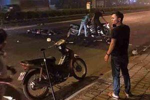 Khởi tố vụ án xe máy kẹp 3 tông xe cảnh sát khiến một Đại úy công an tử vong