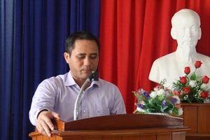 Tùy tiện cho khai thác khoáng sản, Phó Chủ tịch thị xã bị kỷ luật