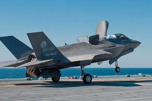 Trung Quốc 'lạnh gáy' trước viễn cảnh tàu chiến ven bờ Mỹ mang tiêm kích tàng hình F-35B