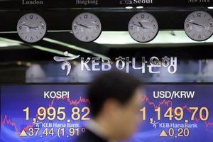 Giá trị cổ phiếu của 100 người giàu nhất sàn chứng khoán Hàn giảm gần 8%