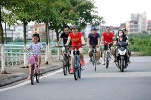 Phát động tuần lễ đi xe đạp và ý thức giữ gìn thành phố đáng sống