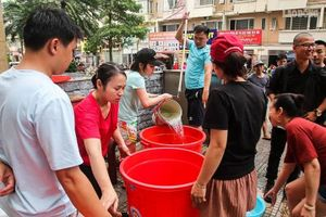 KĐT Tân Tây Đô mất nước: Dân bức xúc, đơn vị cấp nước nói gì?
