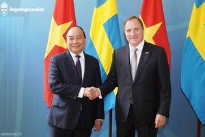 Thủ tướng Việt Nam và Thụy Điển hội đàm
