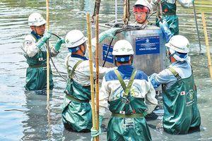 Thử nghiệm làm sạch sông Tô Lịch bằng công nghệ mới