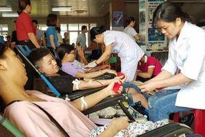 Ninh Bình: Ngày hội hiến máu tình nguyện