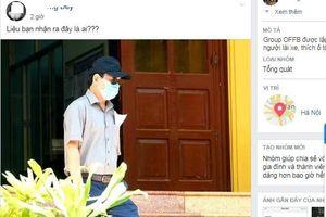 Cư dân mạng xôn xao hình ảnh Nguyễn Hữu Linh đến tòa