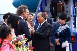 Thủ tướng Nguyễn Xuân Phúc bắt đầu thăm Thụy Điển