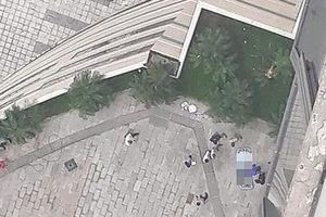 Phát hiện thi thể một người đàn ông ở khu Trung tâm thương mại Mipec Long Biên