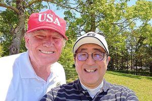 Đến Nhật chơi golf, ông Trump không quên thâm hụt thương mại