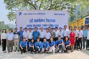VNPT chung tay xây dựng trường học cho tỉnh Hà Giang
