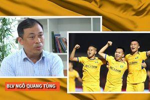 Vấn đề của SLNA tại V.League 2019 qua góc nhìn của BLV Quang Tùng