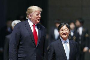 Tổng thống Trump trở thành nguyên thủ nước ngoài đầu tiên gặp tân Nhật hoàng