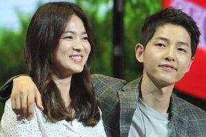 Song Joong Ki bị nghi mặc áo của Song Hye Kyo đi quay phim