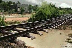 Đường sắt thiệt hại hàng chục tỷ đồng do thiên tai