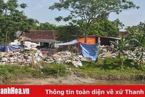 Xã Thái Hòa (Triệu Sơn): Cơ sở giặt và tái chế bao bì gây ô nhiễm môi trường