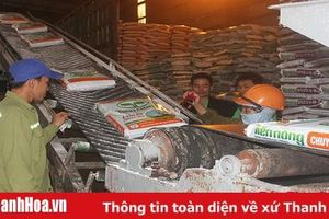 Sản xuất gần 128.000 tấn phân bón