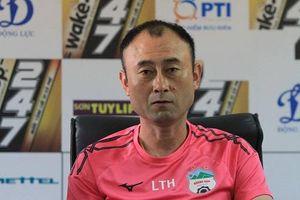 HLV Lee Tae Hoon nói gì sau khi HAGL đứt mạch bất bại ở V-League?