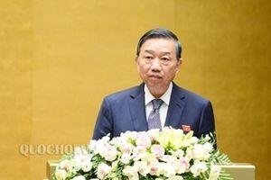 Bộ trưởng Tô Lâm sẽ trả lời chất vấn về công tác đấu tranh phòng chống tội phạm