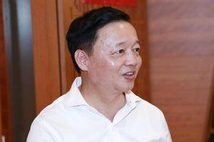 Cấp dưới bị tố nhận 12 tỷ 'chạy dự án', Bộ trưởng Trần Hồng Hà nói gì