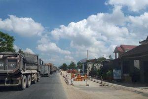 Quảng Ngãi: Quốc lộ 1A chậm tiến độ, lỗi không phải riêng người dân