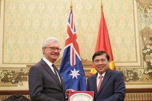 TPHCM muốn Australia đầu tư vào nhiều lĩnh vực