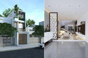 Chiêm ngưỡng mẫu nhà phố 3 tầng đẹp như mơ