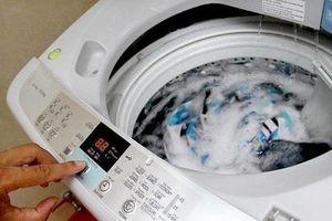 Cách dùng máy giặt vô tư mà vẫn tiết kiệm điện, nước