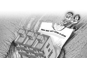 Rủi ro mua nhà đất bằng vi bằng