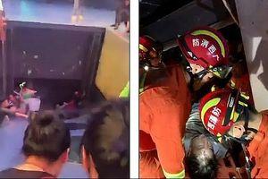 Sập sân khấu tại Trung Quốc khiến 15 người thương vong