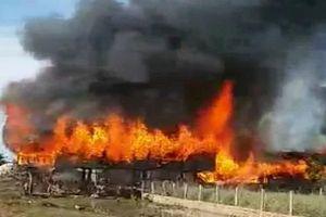 Gia Lai: Ngọn lửa dữ dội thiêu cháy nhà dân, thiệt hại nửa tỉ đồng