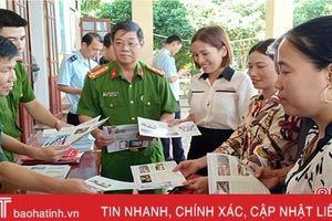 Quyết liệt đấu tranh phòng chống ma túy trên tuyến biên giới Hà Tĩnh