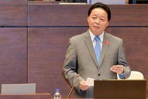 Bộ trưởng Trần Hồng Hà nói về việc 2 cán bộ bị tố nhận 12 tỉ đồng