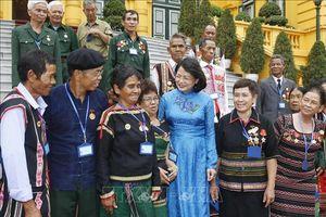 Phó Chủ tịch nước tiếp Đoàn đại biểu người có công tỉnh Đắk Nông