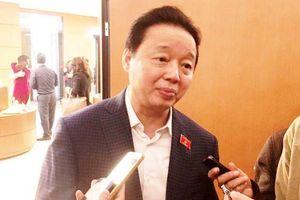 Bộ trưởng Trần Hồng Hà lên tiếng việc 2 cán bộ bị tố nhận 12 tỷ 'chạy' dự án