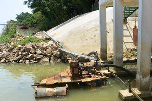 Quảng Ngãi: 9 tỷ đồng nâng cấp trạm bơm để ứng phó khô hạn
