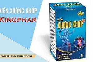 Khuyến cáo sản phẩm Viên xương khớp Kingphar New trên một số website