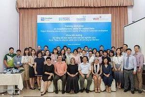 Phát triển kỹ năng nghiên cứu quan trọng cho cán bộ trẻ của Việt Nam